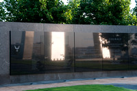 Reflection of USAF Memorial