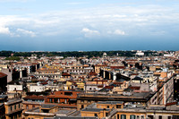 View of Rome from Vatican Museum Window