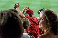 NATS Fan Excitement After Catching a Home Run