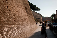 Outside Wall of Vatican City