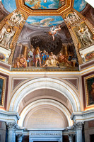 Wall Mural Above Arch Vatican Museum