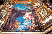 Mural on the Wall Vatican Museum